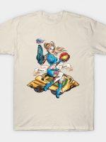 Zero Suit Bomber Girl T-Shirt