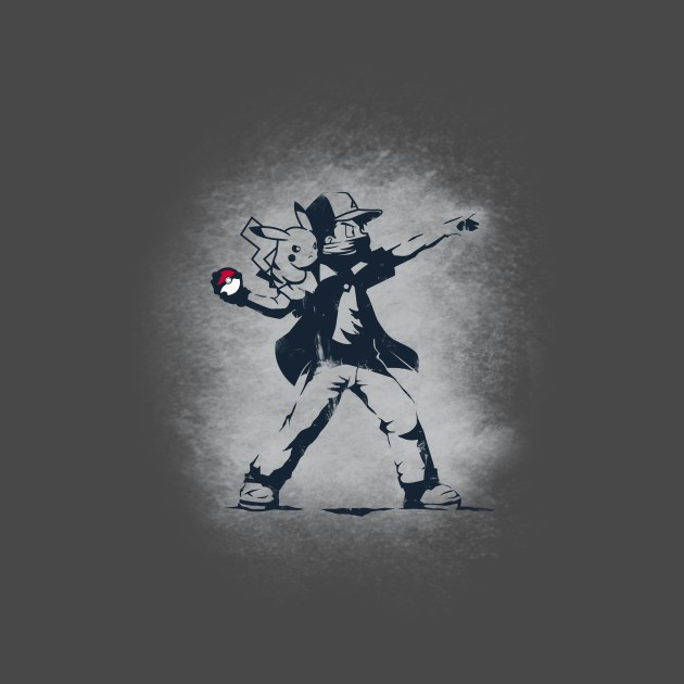 BANKSY POKEBALL