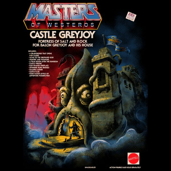 CASTLE GREYJOY