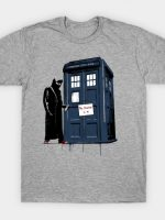 EXIT THROUGH THE TARDIS T-Shirt