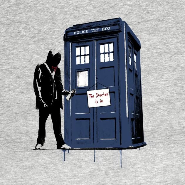 EXIT THROUGH THE TARDIS...AGAIN