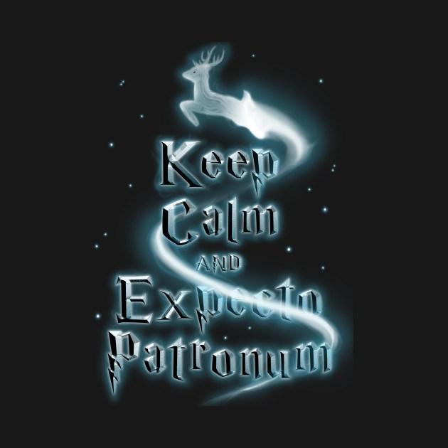KEEP CALM AND EXPECTO PATRONUM!