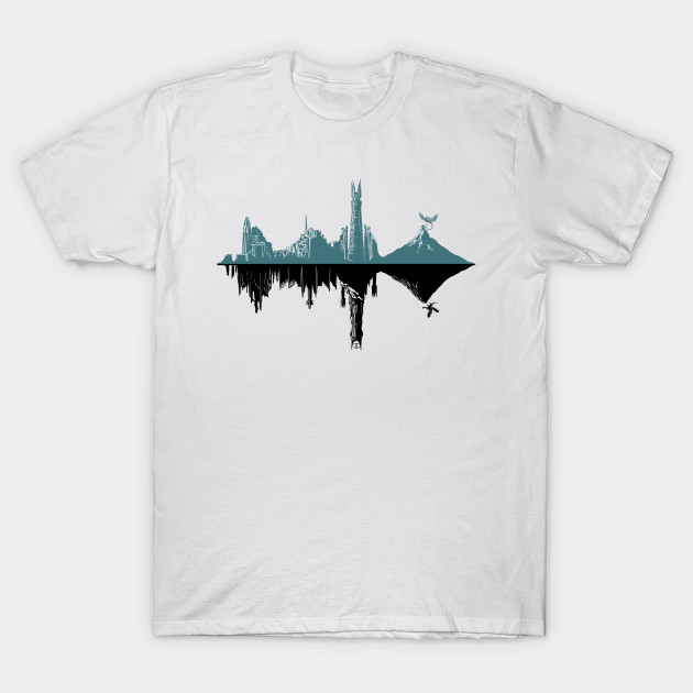 MIDDLE-HERZT DUALITY T-Shirt