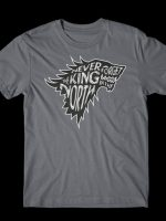 Never Forget The King In The North T-Shirt