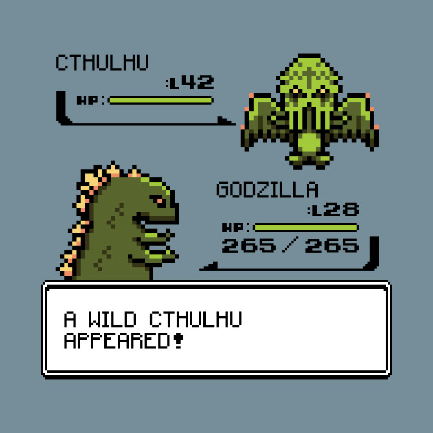 A Wild CTHULHU Appeared!
