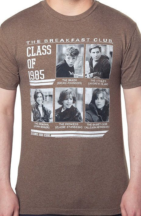 Breakfast Club Class of 1985