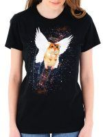 Cosmic Angel Hamster T-Shirt
