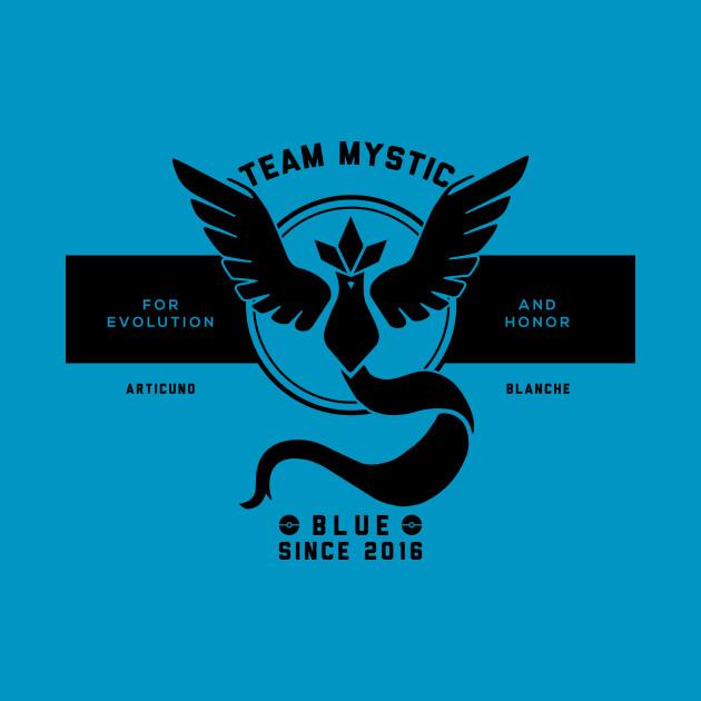 GO with Team Mystic