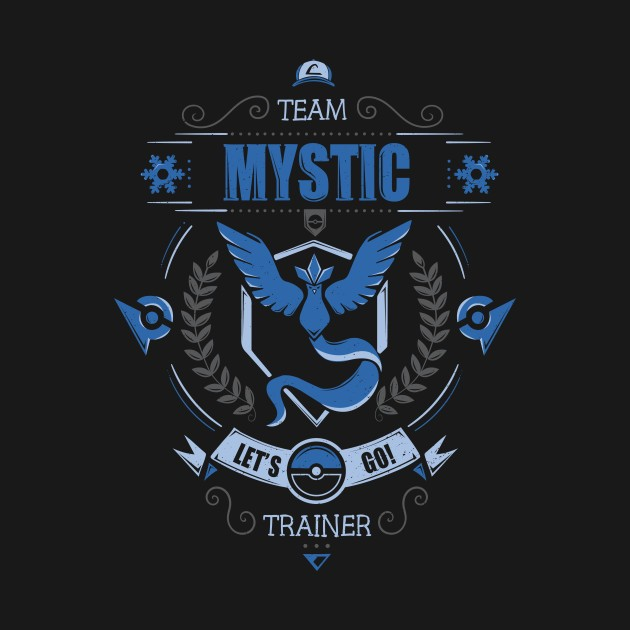 LET'S GO! TEAM MYSTIC