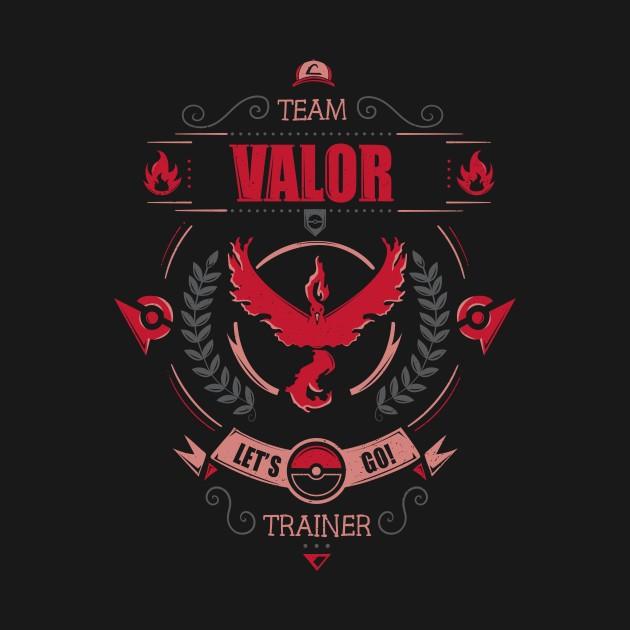 LET'S GO! TEAM VALOR