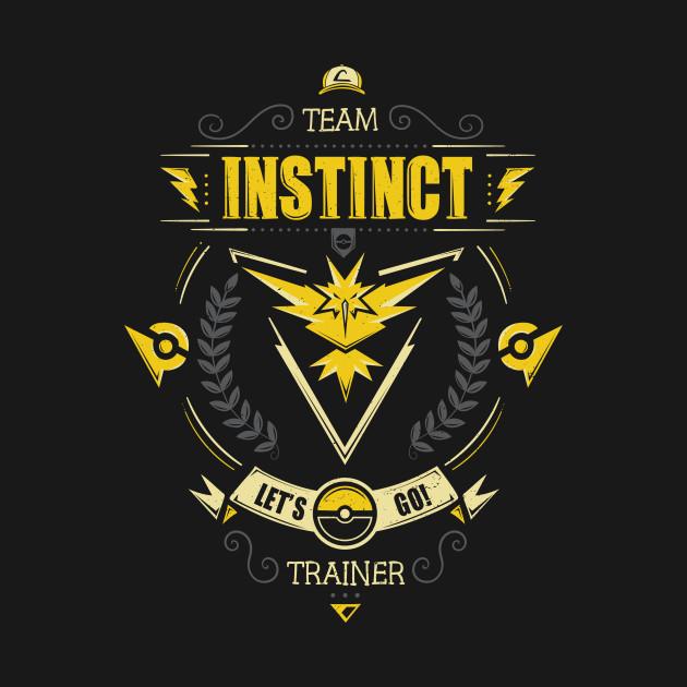 Let's go! Team instinct