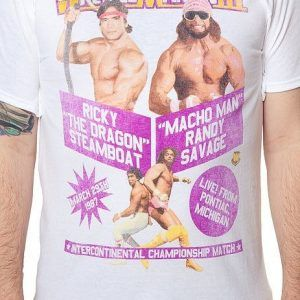 Macho Man Ricky Steamboat WrestleMania