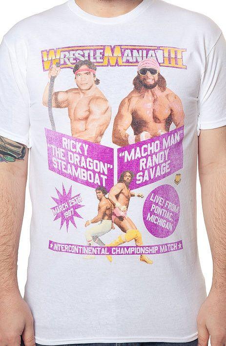 Macho Man Ricky Steamboat WrestleMania