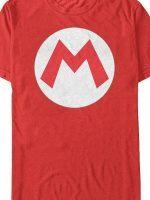 Mario Logo T-Shirt