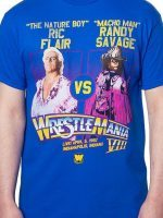 Ric Flair Vs Macho Man WrestleMania T-Shirt