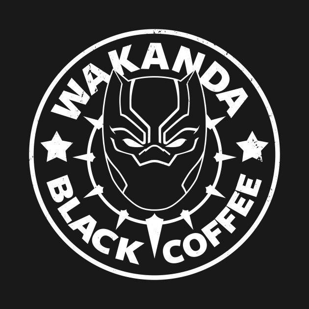WAKANDA BLACK COFFEE
