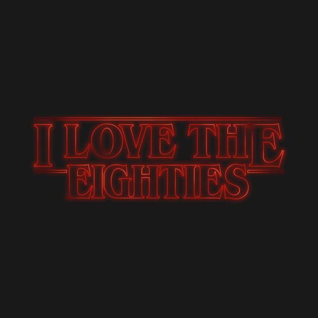 LOVE THE STRANGER EIGHTIES!