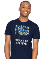 Starry Files T-Shirt