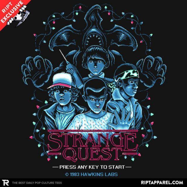 Strange Quest 1983