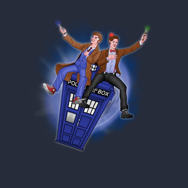 THE DOCTOR'S TIMEY-WIMEY ADVENTURE