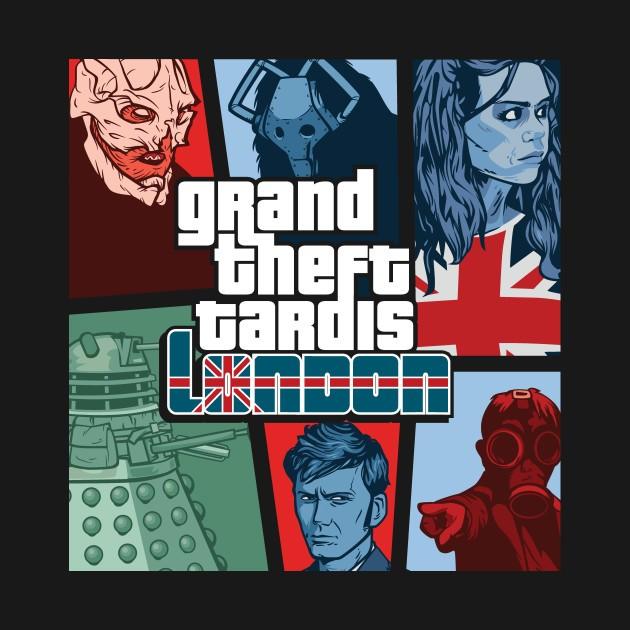GRAND THEFT TARDIS - LONDON