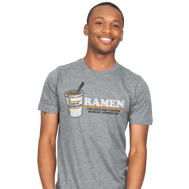 Ramen Budget Approved T-Shirt