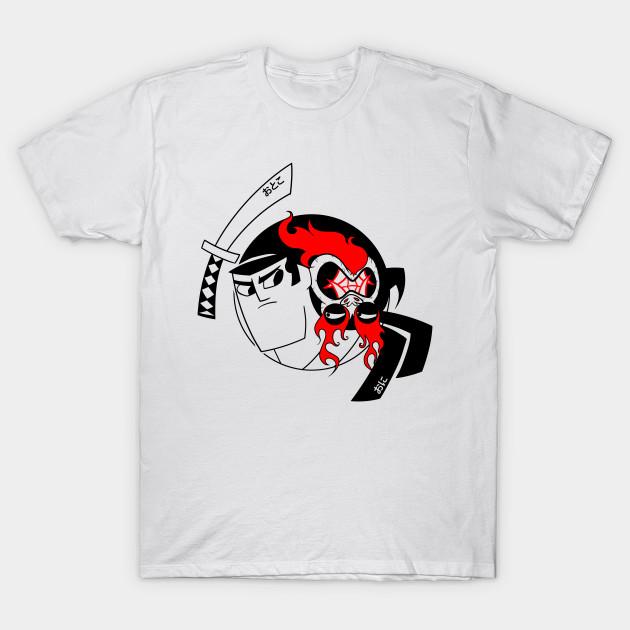 Samurai Jack and Aku Yin Yang