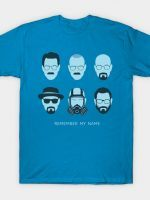 ALL HAIL HEISENBERG (BLUE) T-Shirt