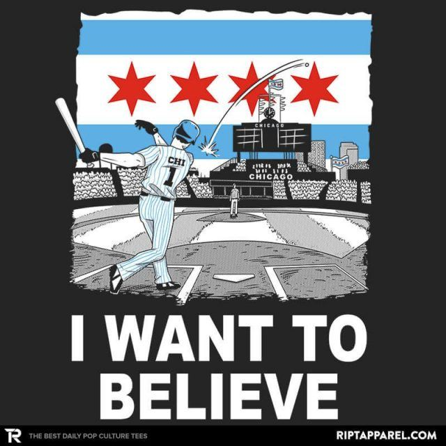 CHI WANT TO BELIEVE