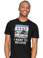 CHI WANT TO BELIEVE T-Shirt
