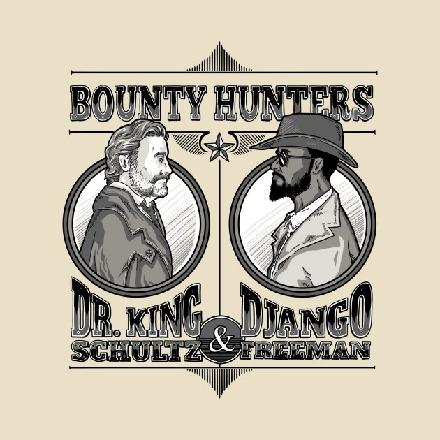 DJANGO FREEMAN BOUNTY HUNTER
