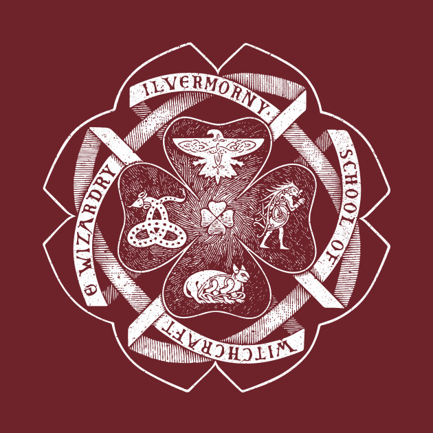 Ilvermorny School of Witchcraft and Wizardry Crest