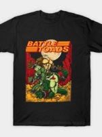 3 Battletoad Moon T-Shirt