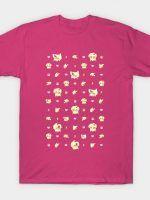 PIKA PASTEL POKE-PATTERN T-Shirt