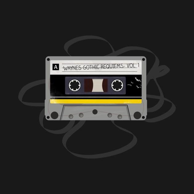 Superhero Mix Tapes - Batman