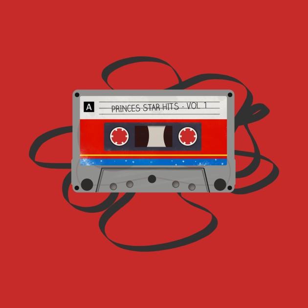 Superhero Mix Tapes - Wonder Woman