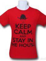 Walking Dead Keep Calm Carl T-Shirt