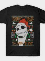 SANDY CLAWS COD HOLIDAY SWEATER T-Shirt