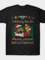 CATMUS COD HOLIDAY SWEATER T-Shirt
