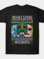 ROCKY LOVES HOLIDAYS COD HOLIDAY SWEATER T-Shirt