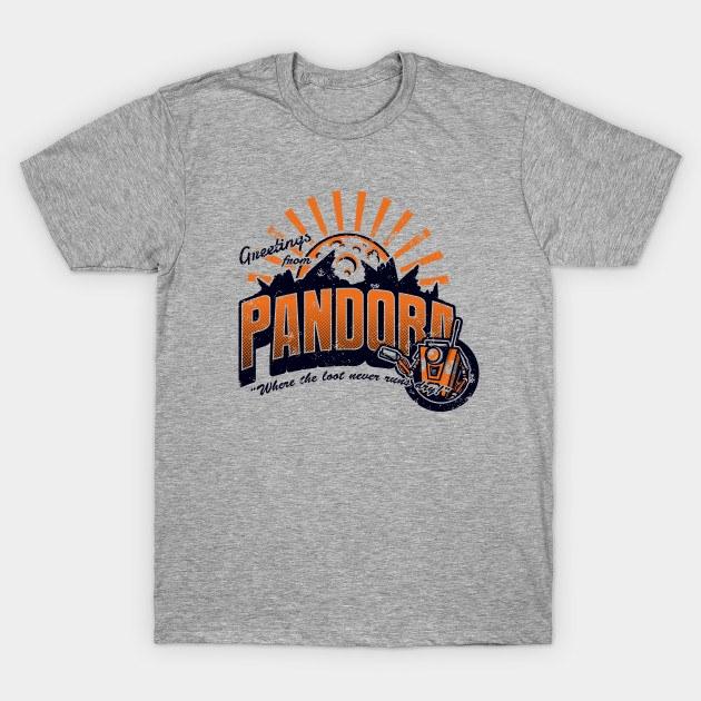 Greetings from Pandora!