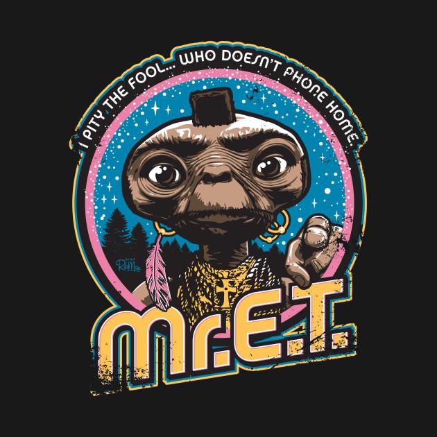 Mr. E.T. - 80s Retro Vintage Mash-Up