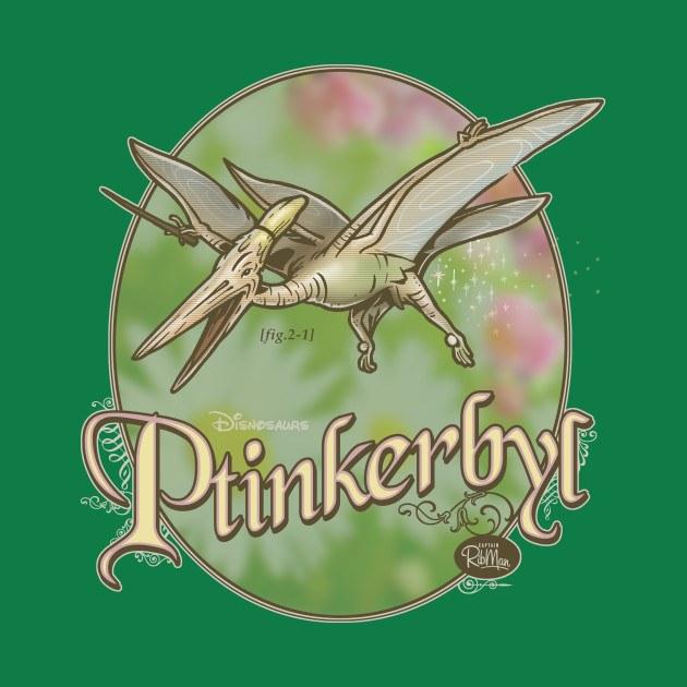 PREHISTORIC PRINCESS: Ptinkerbyl