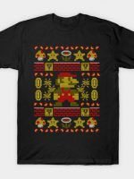 PIXEL PLUMBER COD HOLIDAY SWEATER T-Shirt