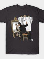 Self-portrait of Hacker T-Shirt