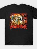 SuperWomen of the 80s - Fight The Power! T-Shirt