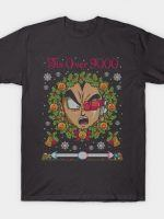TIS OVER 9000 COD HOLIDAY SWEATER T-Shirt