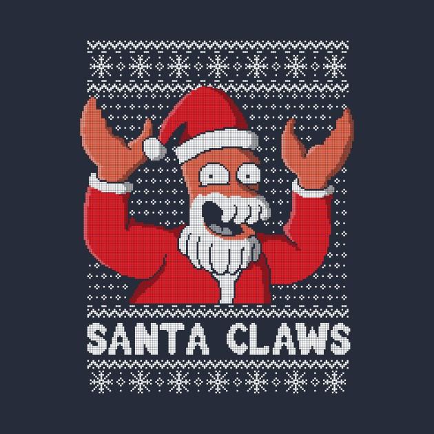 Xmas Ugly sweater Santa Claws