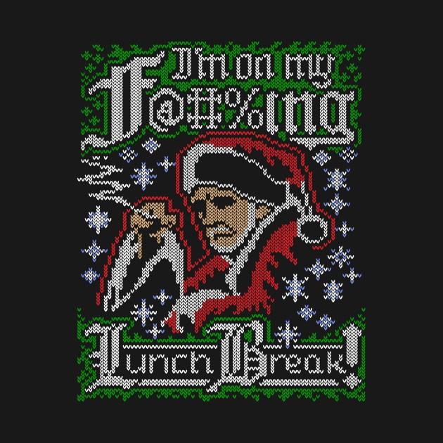 bad santa ugly sweater