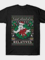 JINGLEBUSTERS COD HOLIDAY SWEATER T-Shirt